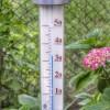 真夏の室内温度の測定