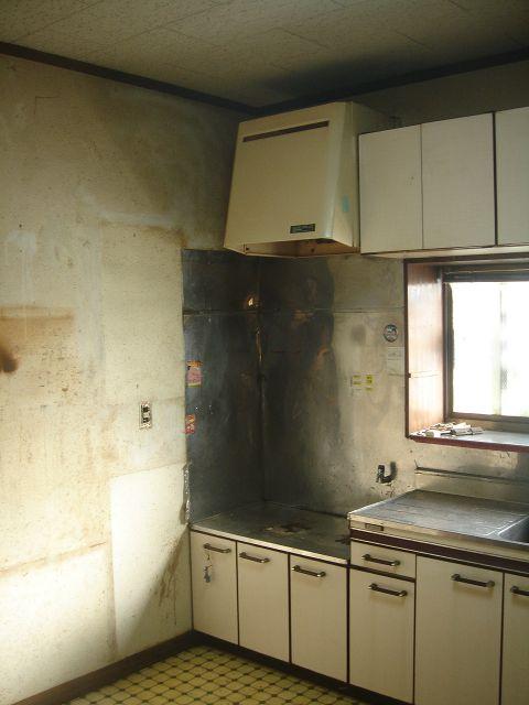 キッチン改修