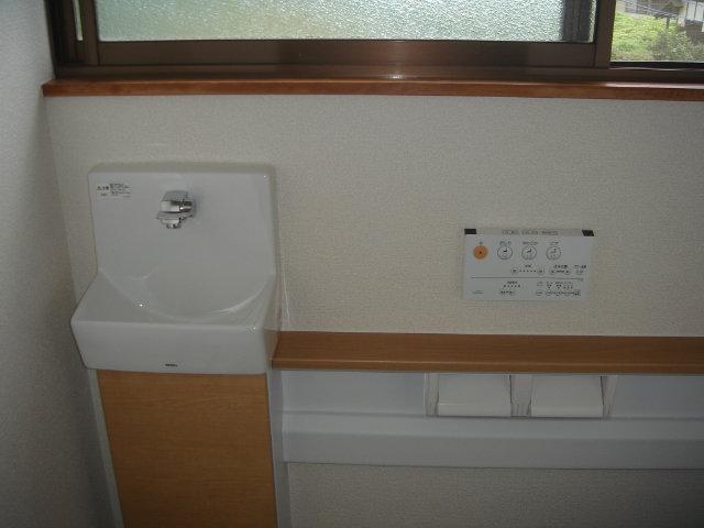 手洗い器新設